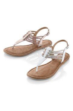 tamaris sandalen »milos« wit
