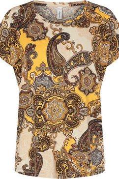 soyaconcept shirt met print »felicity274« geel