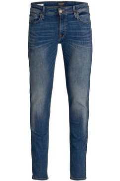 jack  jones skinny fit jeans »liam jjoriginal« blauw