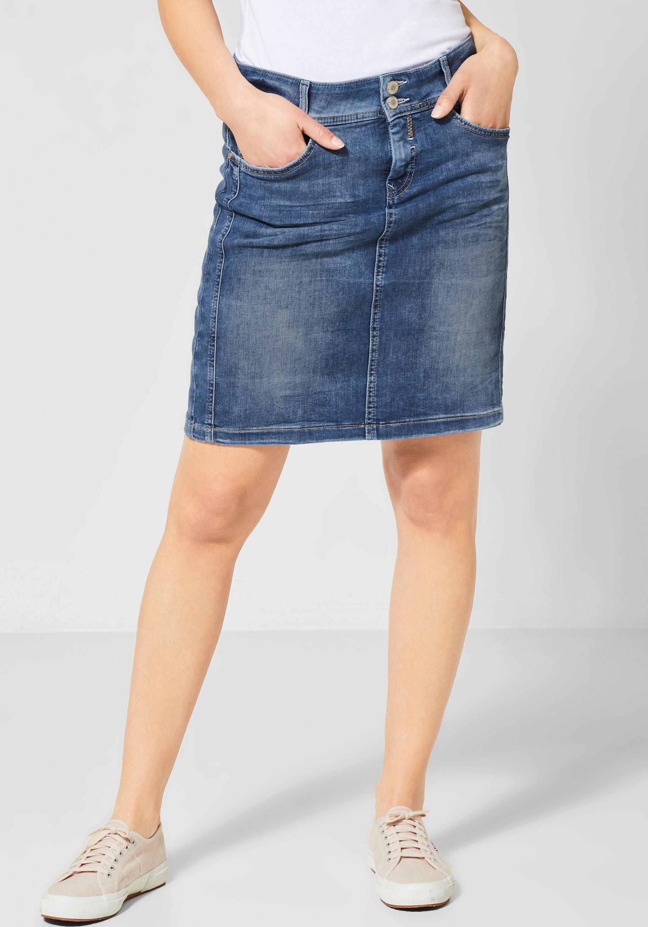 Street One jeansrok in de webshop van OTTO kopen