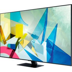 samsung gq49q80t qled-televisie (123 cm - (49 inch), 4k ultra hd, smart-tv zilver