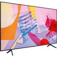 samsung 75q60t qled-televisie (189 cm - (75 inch), 4k ultra hd, smart-tv zwart