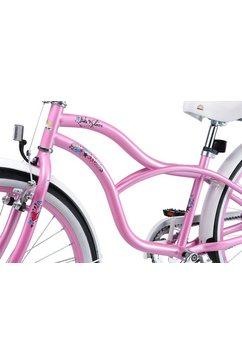 bikestar tienerfiets 1 versnelling roze