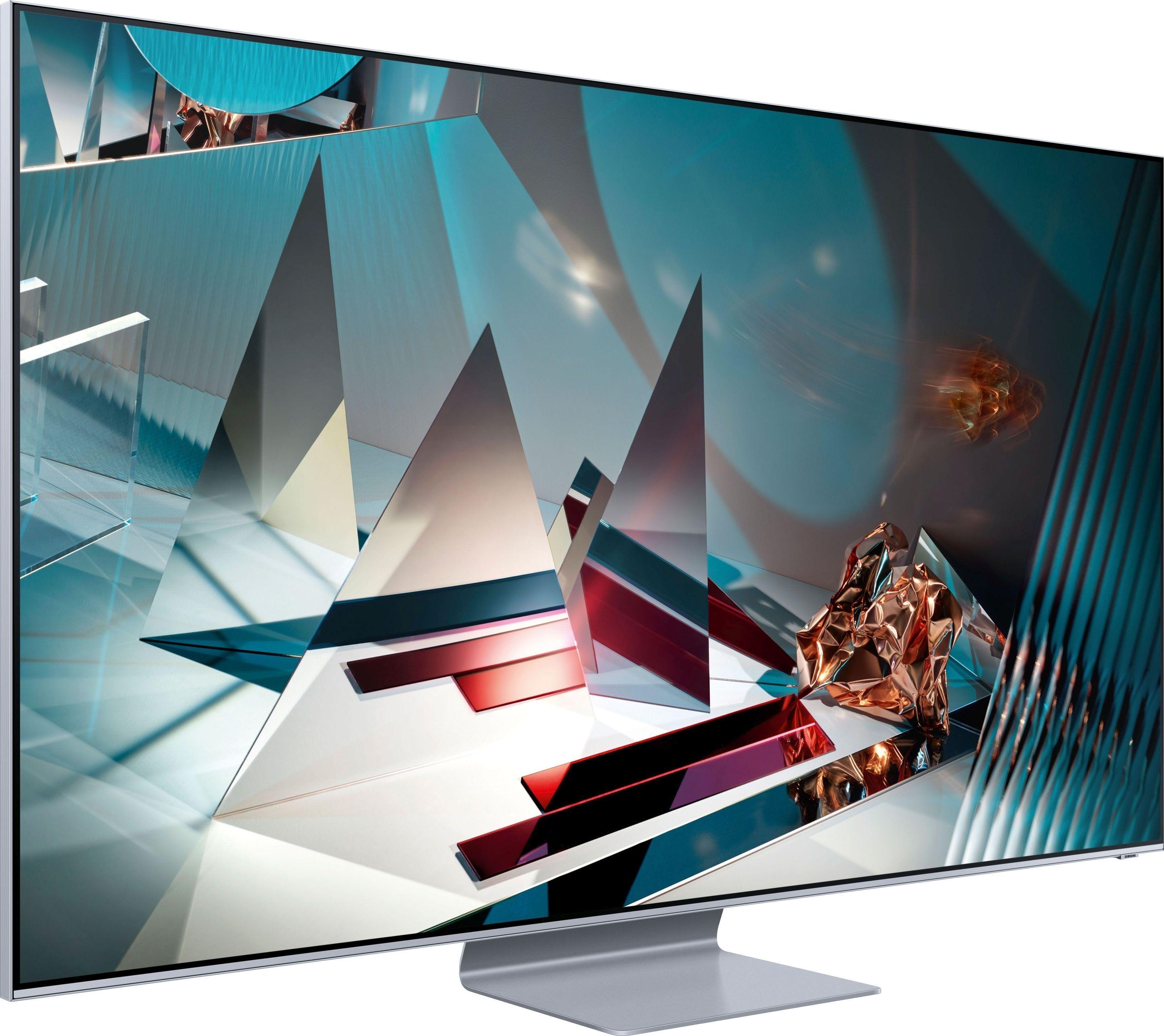 SAMSUNG GQ75Q800T QLED-televisie (189 cm / (75 Inch), 8K, Smart-TV - verschillende betaalmethodes