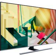 samsung gq55q75t qled-televisie (138 cm - (55 inch), 4k ultra hd, smart-tv zwart