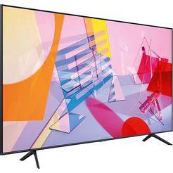 samsung 85q60t qled-televisie (214 cm - (85 inch), 4k ultra hd, smart-tv zwart