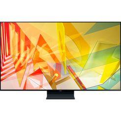samsung gq65q90t qled-televisie (163 cm - (65 inch), 4k ultra hd, smart-tv zwart