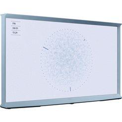 samsung 55ls01t qled-televisie (138 cm - (55 inch), 4k ultra hd, smart-tv blauw
