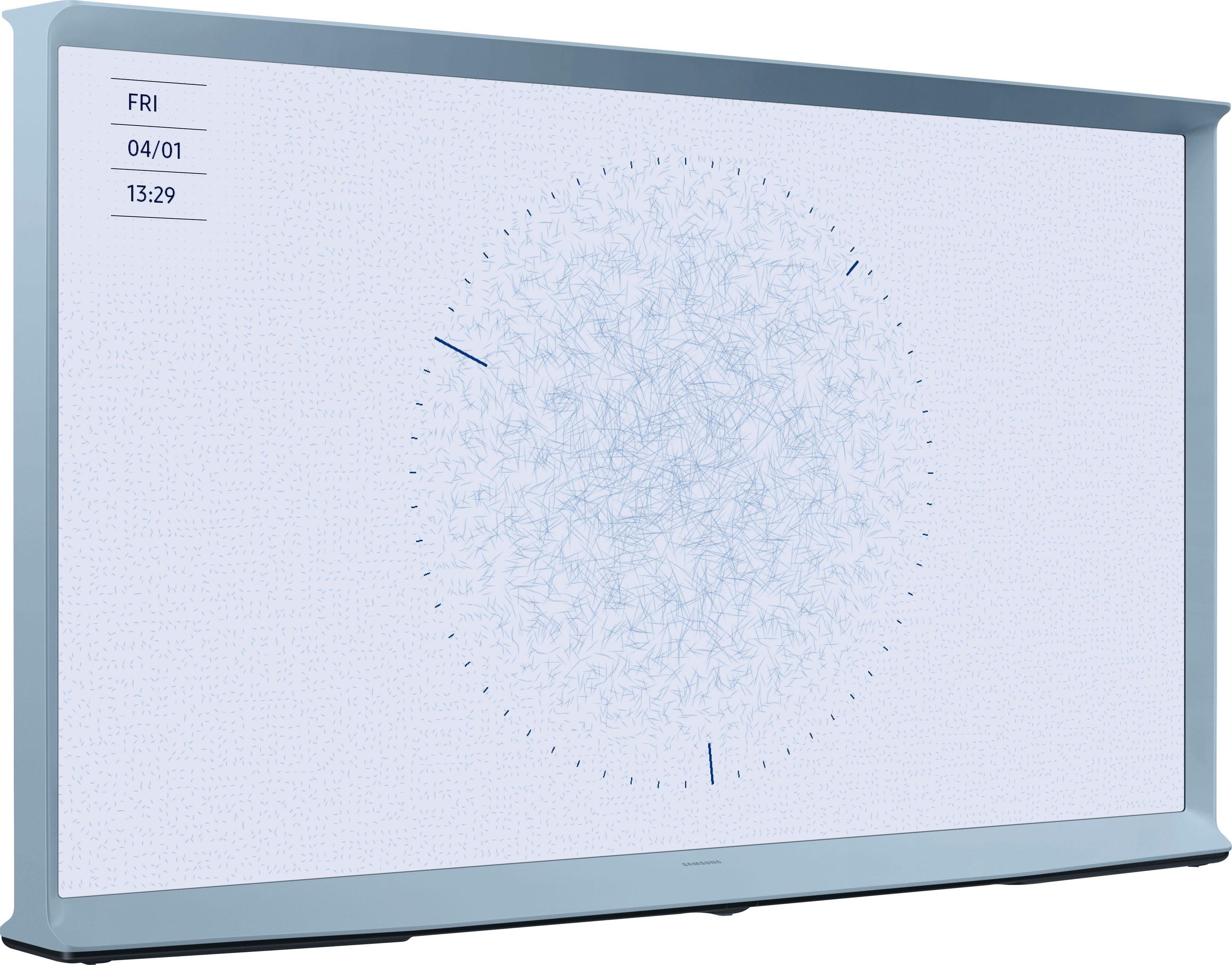 SAMSUNG 55LS01T QLED-televisie (138 cm / (55 Inch), 4K Ultra HD, Smart-TV - verschillende betaalmethodes