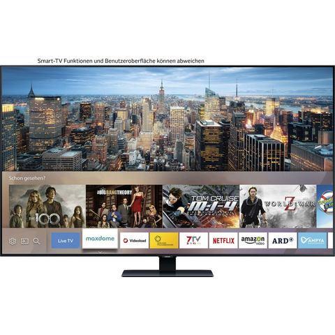 Samsung GQ65Q80 QLED-TV 163 cm 65 inch Energielabel B (A+++ D) Twin DVB-T2-C-S2, UHD, Smart TV, WiFi