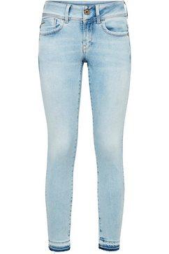 g-star raw 7-8 jeans »lynn mid skinny rp ankle wmn« blauw