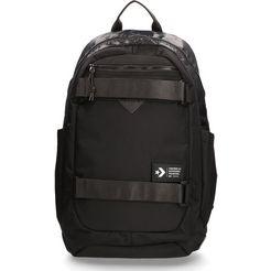 converse laptoprugzak »utility, black« zwart