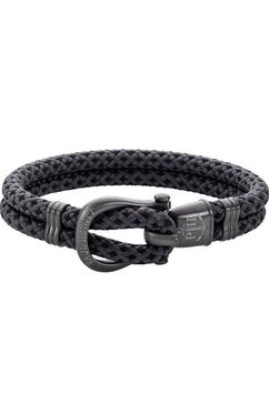 paul hewitt armband »phinity, ph-sh-n-gm-bg-l, ph-sh-n-gm-bg-xxl« grijs