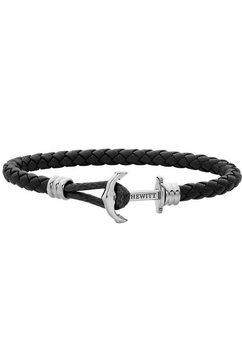 paul hewitt armband »anker, phrep lite, ph-phl-l-s-b-l, ph-phl-l-s-b-xxl« zwart