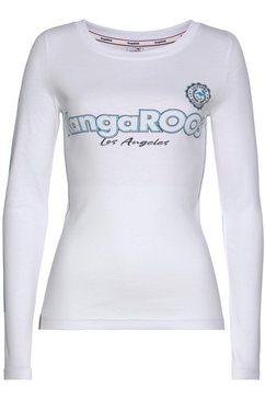 kangaroos shirt met lange mouwen wit