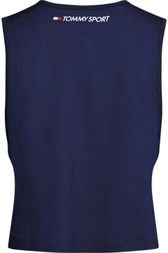 tommy sport sporttop »performance tank top lbr« blauw