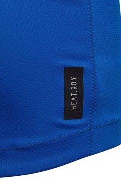 adidas performance functioneel shirt »youth boy training tee« blauw