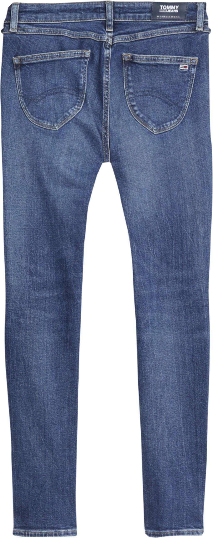 TOMMY JEANS skinny fit jeans »SOPHIE LR SKNY ANKLE ZIP BRBK« - gratis ruilen op otto.nl