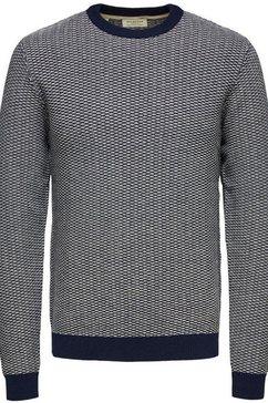 selected homme trui met ronde hals »aiden crew neck« zwart