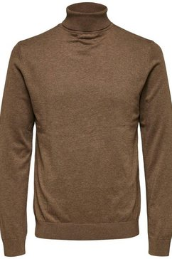 selected homme coltrui »berg roll neck« beige