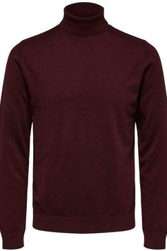 selected homme coltrui »berg roll neck« paars