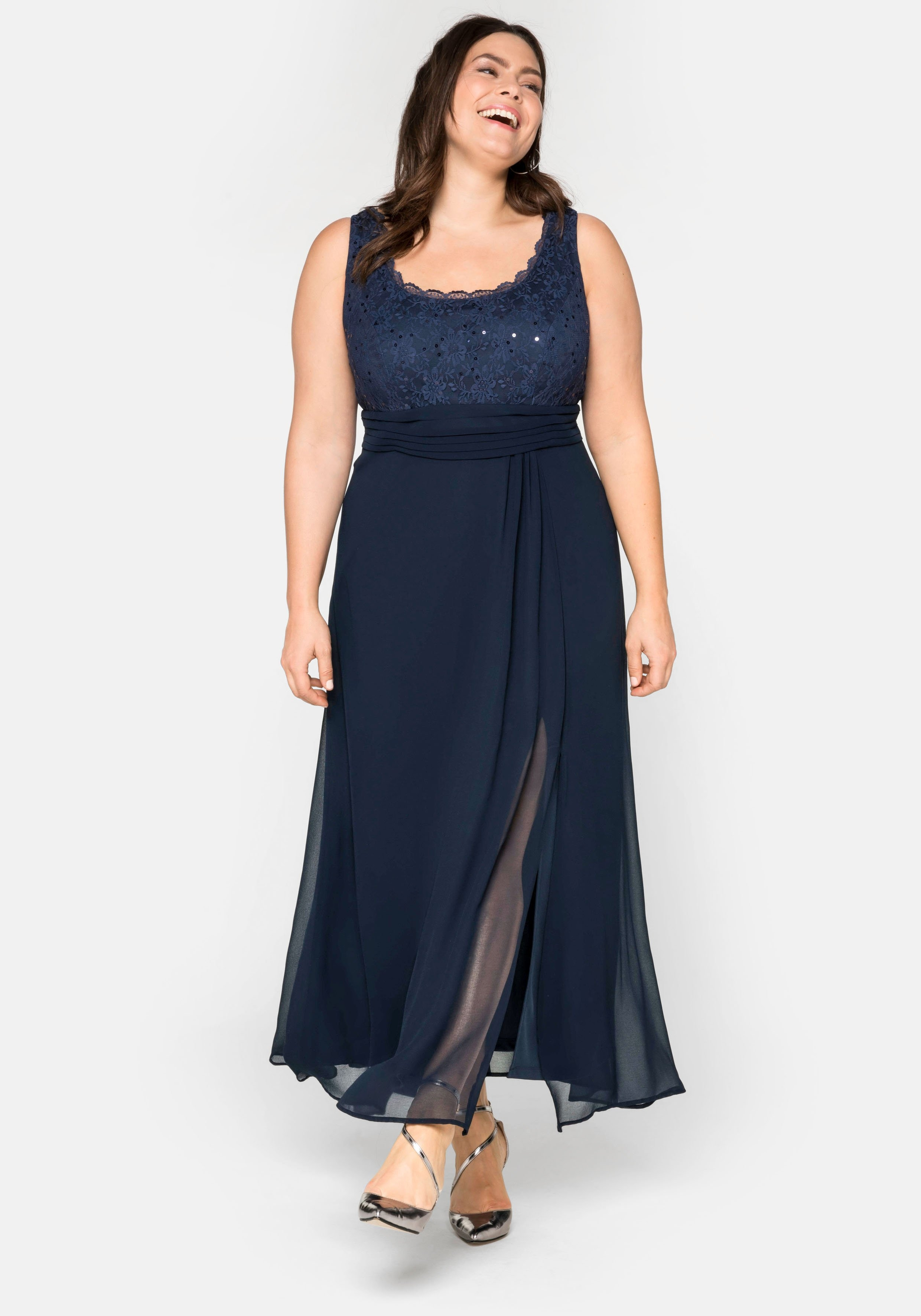 Sheego Style SHEEGO STYLE jurk in de webshop van OTTO kopen