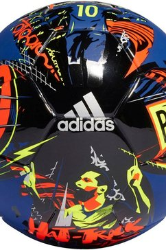adidas performance »messi mini, kleiner fussball« voetbal blauw