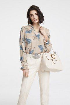 gedessineerde blouse multicolor