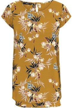 only gedessineerde blouse geel
