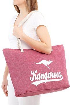 kangaroos strandtas roze