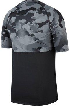 nike trainingsshirt »men's short-sleeve camo top« zwart
