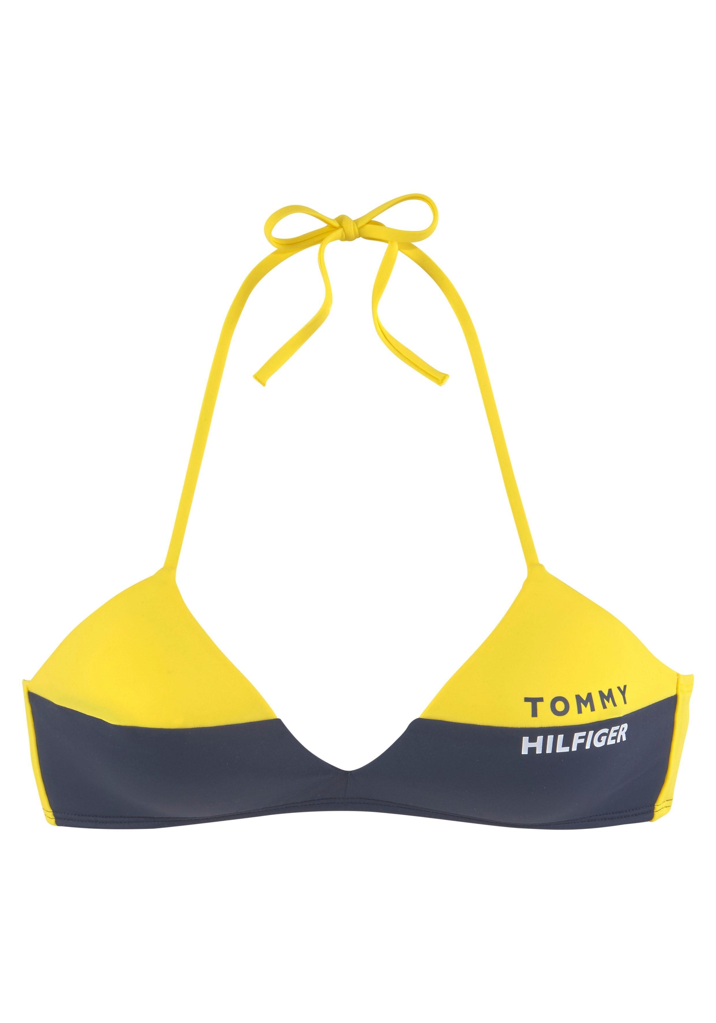 Op zoek naar een Tommy Hilfiger triangel-bikinitop »Block«? Koop online bij OTTO