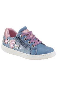tom tailor sneakers met glitterdetails blauw