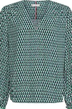 tommy hilfiger blouse zonder sluiting groen