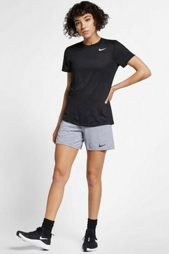 nike trainingsshirt »dry legend women's training t-shirt« zwart