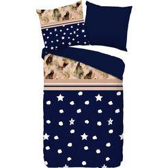 pure luxury collection tweezijdig te gebruiken overtrekset »kiki«, pure luxury collection blauw