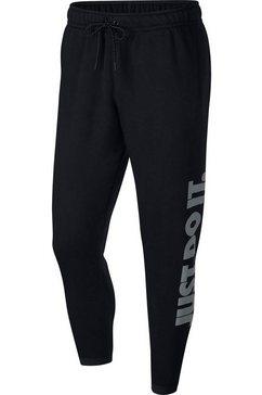 nike joggingbroek »nsw just do it pant fleece mix« zwart