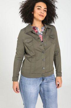jeansjasje groen