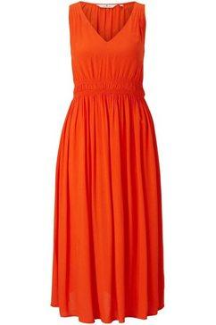 tom tailor maxi-jurk oranje