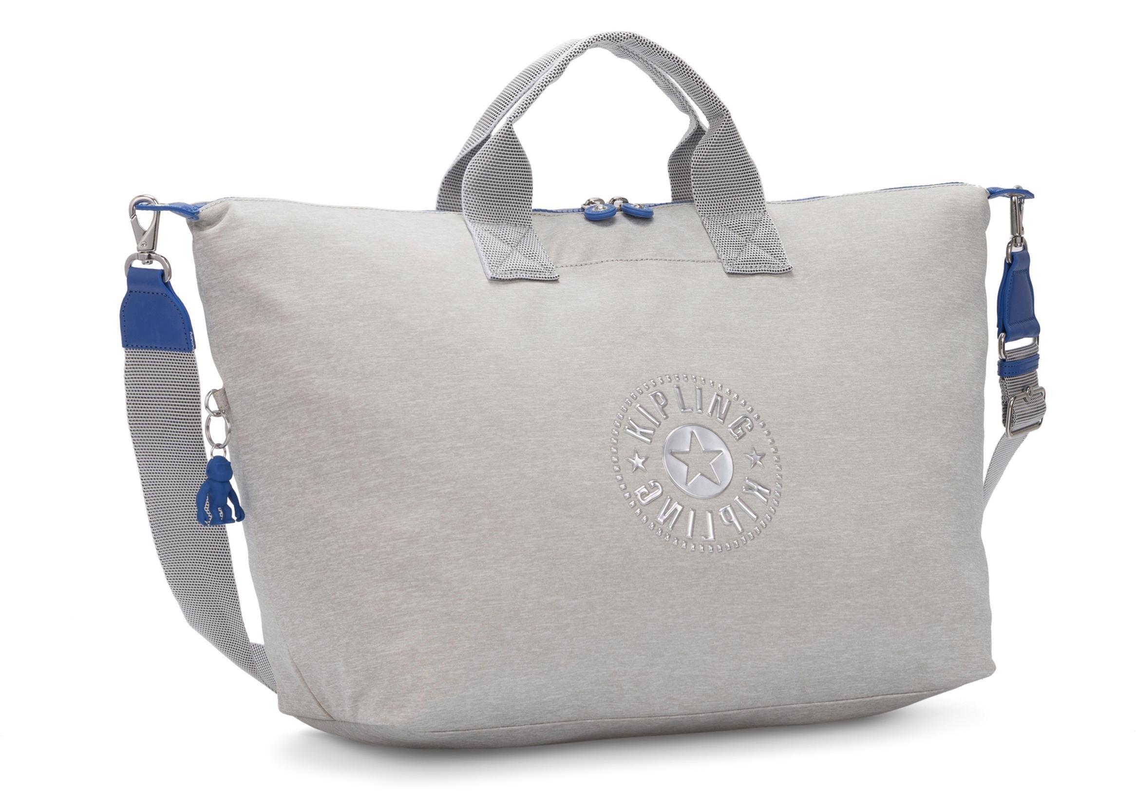 Kipling weekendtas »Kala M, Soft Grey« in de webshop van OTTO kopen