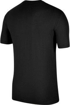 jordan t-shirt »men's short-sleeve crew« zwart
