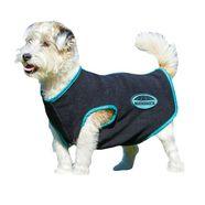 weatherbeeta »fleece mit reissverschluss« lange hondenjas zwart