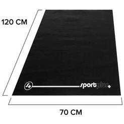 sportplus vloerbeschermingsmat zwart