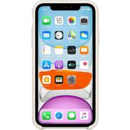 apple »iphone 11 silikon case« smartphone-hoes wit