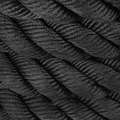 sportplus battle rope »sp-br-015« zwart