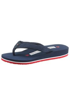 tommy hilfiger slippers »heart print pool slide« blauw
