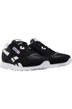 reebok classic sneakers »cl nylon« zwart