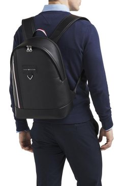 tommy hilfiger rugzak »th metropolitan backpack« zwart