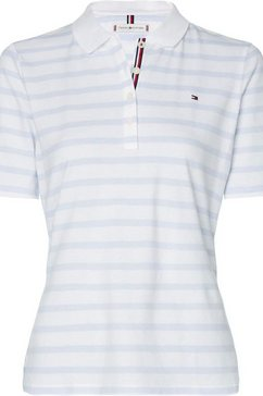 tommy hilfiger poloshirt »th essential stp reg polo ss« wit
