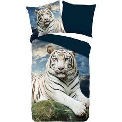 pure luxury collection tweezijdig te gebruiken overtrekset »bobby«, pure luxury collection blauw
